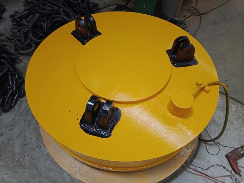 φ100电磁吸盘   磁力 磨刀机电磁吸盘 磁力吊