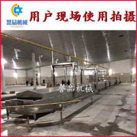 牛肉丸子成型蒸煮冷却线 不锈钢丸子生产线支持定制