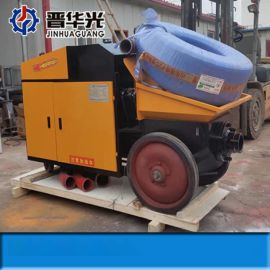 温州卧式液压二次构造柱泵小型混凝土输送泵