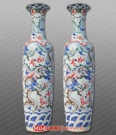 酒店开业摆设大花瓶 1.8米陶瓷大花瓶