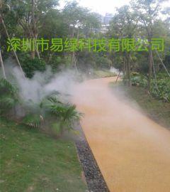喷雾景观人造雾,喷雾降温,喷雾加湿除尘,