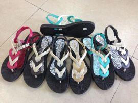 揭阳厂家供应2015新款夏季户外休闲女款凉鞋