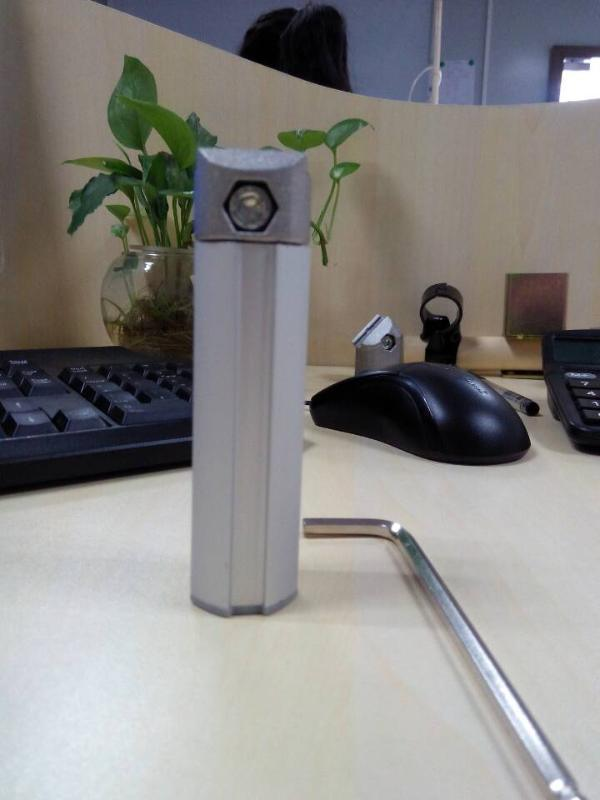 深圳精极铝合金管28mm*1.2mm--货架配件