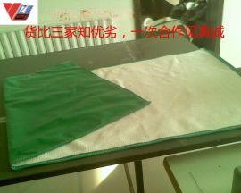 厂家供应专业电焊施工防火毯 耐高温遮挡悬挂多用电焊毯