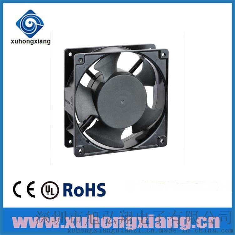 深圳風扇12038AC含油風扇通訊機櫃
