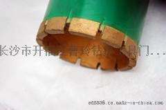 钻探工具热压金刚石钻头 无敌牌金刚石薄壁钻头