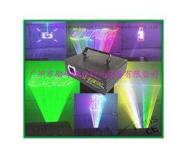RGB2W全彩带SD卡效果图案光束动画激光灯