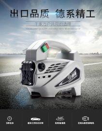 绿霸家用便携全自动高压洗车机220v铜电机清洗机洗车神器刷车水泵