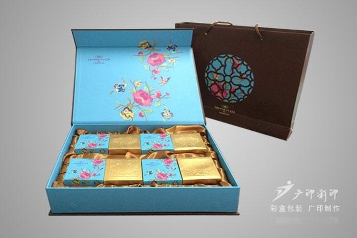 安徽月饼礼盒包装生产厂家,精美天地盖礼盒包装设计
