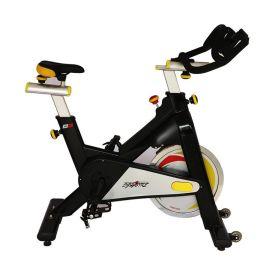 铝合金防锈商用有氧动感单车 加重惯性轮安全脚踏豪华新**单车