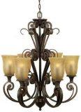 古典雲彩玻璃吊燈(MG-8752)