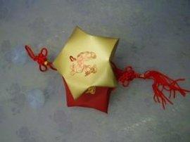 五星中国结喜糖盒子(xt-03)