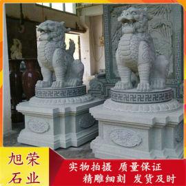 供应高品质石雕貔貅 门口聚财神兽动物花岗岩貔貅摆件