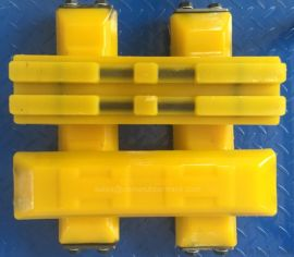 厂家直销 橡胶履带 挖掘机橡胶履带块 聚氨酯履带板