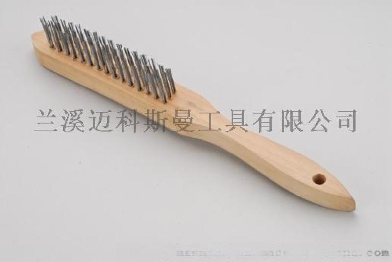 欧式钢丝刷(硬杂木)钢丝刷