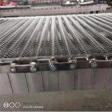 直銷304不鏽鋼乙型網帶回流焊乙型網帶可定制耐高溫食品烘烤網帶