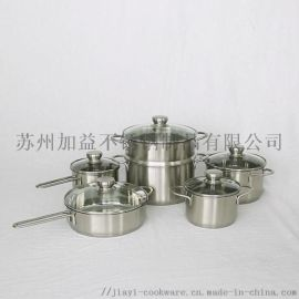 国际代工JY-NY系列不锈钢炊具套装