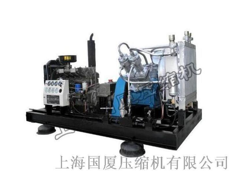 国厦高压空压机_250公斤压缩机_25兆帕空压机