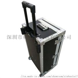深圳铝合金拉杆箱拉杆航空箱报价
