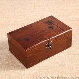 實木家用長方形針線盒 縫紉針線整理盒