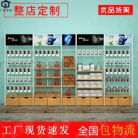 手机数码店展示柜厂家 手机配件店展示架 母婴店货架