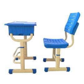 成都亿洲学校中小学生可升降调节课桌椅