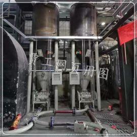 电动旋转给料阀粉颗状物料的重力给料机气力输送系统