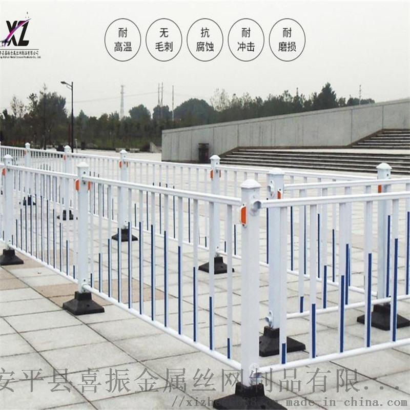 学校隔离护栏@道路护栏隔离区域@市政隔离护栏现货