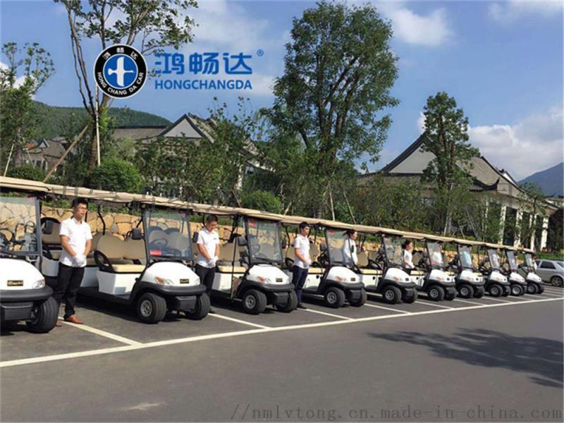 供应内蒙鸿畅达电动高尔夫球车  8座 爬坡劲大