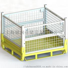 折叠式仓储笼物流周转笼 金属网箱 金属周转箱