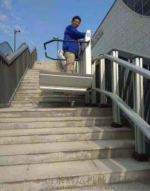 淮南斜挂升降平台斜挂电梯楼梯无障碍通道
