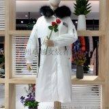 法國品牌【大山】19冬高端羽絨服品牌折扣女裝