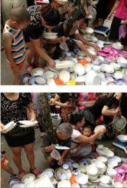 密胺仿瓷碗盘碟库存美耐皿餐具摆摊热卖产品批发