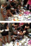 密胺仿瓷碗盤碟庫存美耐皿食具擺攤熱賣產品批發
