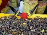 庙会赶集十二肖生牛角葫芦挂件厂家