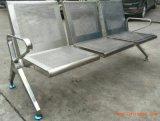 不鏽鋼排椅-不鏽鋼椅子--三人座不鏽鋼椅