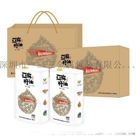 工厂直销定制食用油铁罐大米铁罐纸盒铁盒礼盒