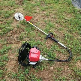 农用汽油二冲割草机背负式剪草机圆形刀片