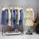 女裝品牌皇朝妃時尚百搭棉服 款式大氣 品牌折扣