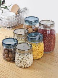 大容量瓶玻璃瓶密封罐玻璃罐玻璃瓶杂粮瓶储物罐密封罐