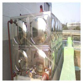 给水系统玻璃钢水箱 霈凯 加热水箱