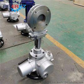 不锈钢电动刀闸阀 PZ973H-10P DN50