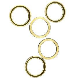 油管接头铜铁垫圈垫片金属密封圈