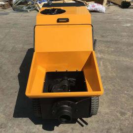 专业生产出售砂浆泵注浆泵室内上料二次构造浇灌泵