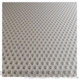 廠家定做圓形孔塑料洞洞板網耐高溫腐蝕塑料衝孔板