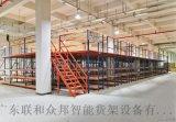 江門重型閣樓貨架多層組合鋼結構閣樓平臺