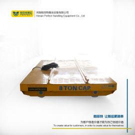 遥控卷材地轨搬运车 电缆卷筒供电电动平车