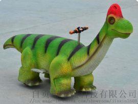 儿童电动恐龙车   广场游乐设备 软胶恐龙模型