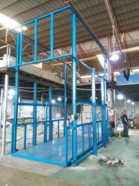 车间升降机2T仓库进出货提升机6.5米鸿力厂家定做
