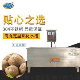 智能煮肉丸水槽,商用双温控煮肉圆机